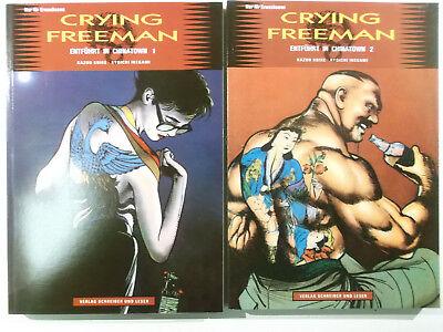 Crying Freeman Entführt in Chinatown 1 + 2 komplett ( Schreiber & Leser ) Neu