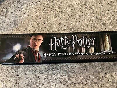 Harry Potter's Wand With Illuminating Tip The Noble Collection