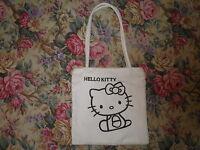 Borsetta Bianca In Cotone Con Stampa Hello Kitty - hello kitty - ebay.it