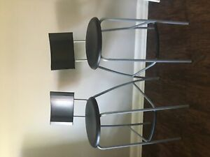 Set of IKEA ANSSI bar stools