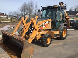 2011 CASE BACKHOE 580 Super N