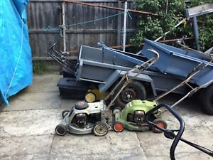 Lawn mowers all sorts  blowers wippersnippers  catchers more and more