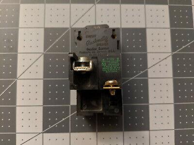 Bulldog Electric P120 Pushmatic Circuit Breaker Single Pole 20a Amp