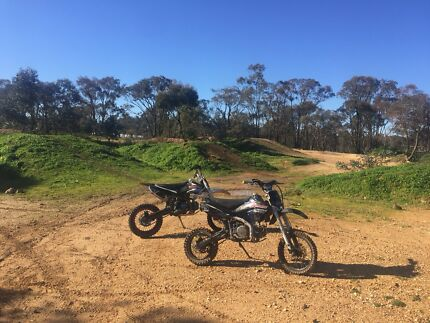Pit Bikes  x 2  - heaps of fun $450 each