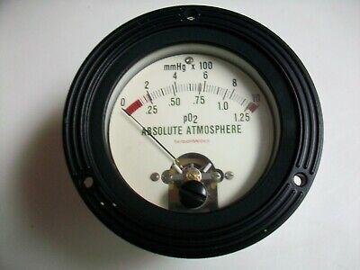 Simpson 3 12 Panel Meter - Absolute Atmosphere