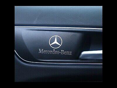 Dekoration Aluminium Aufkleber Für Mercedes Bens B R G Klasse GLk GLA C200 E200