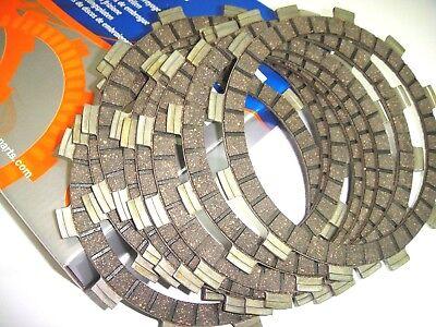 SET 8 CLUTCH DISCS FIBRES 12146 <em>YAMAHA</em> 500 XS 1975 1976 1977 1978 1979