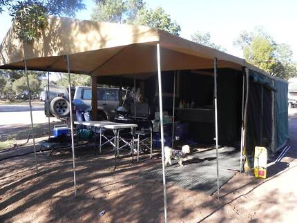 2012 Armstrong Camper Trailer with Extra Modifications Onkaparinga Hills Morphett Vale Area Preview