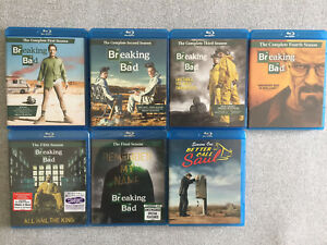 Breaking Bad Complete Series + Better Call Saul Season 1 blu-ray