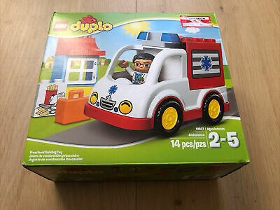 Lego Duplo Ambulance Set (#10527) - 2-5 years NEW SEALED