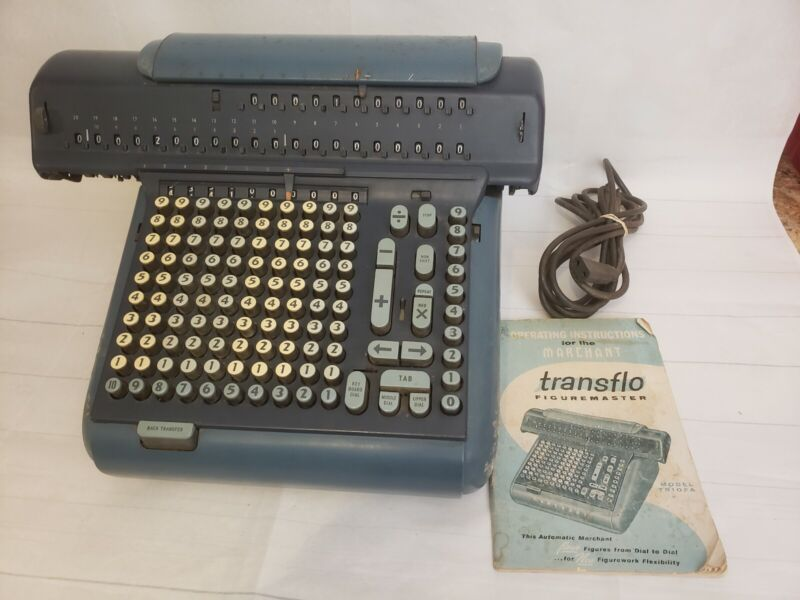 Vintage Marchant Transflo figuremaster model TR10FA with instructions