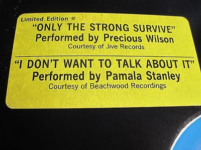 Limited Edition Sound Energy Mixes Precious Wilson   Pamala Stanley Near Mint H
