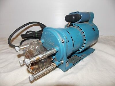 Cole Parmer Masterflex 7531-00 Peristaltic Pump Includes A 7018-20 Pump Head