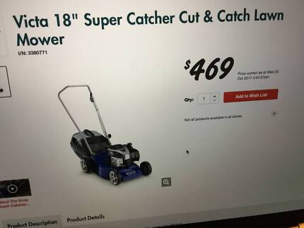 lawn mower for sale great condition