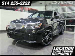 BMW X3 Traction intégrale, xDrive35i|MSPORT|NAV|EXEC|TECH|20'|