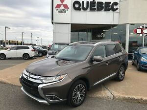2018 Mitsubishi Outlander GT S-AWC Carplay Cuir, Toit 7 places