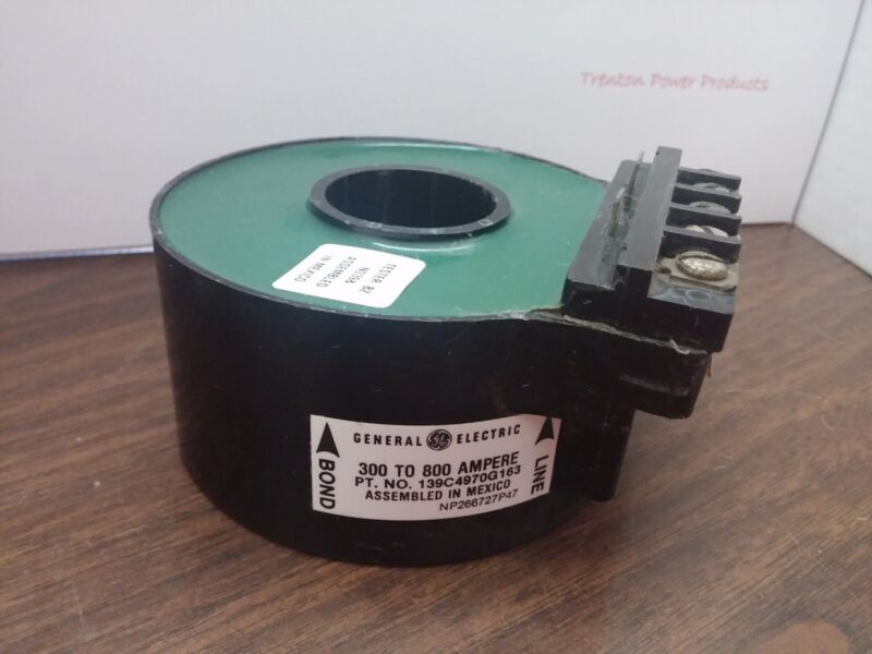 General Electric GE 139C4970G163 300 to 800 Ampere Sensors (CS015)