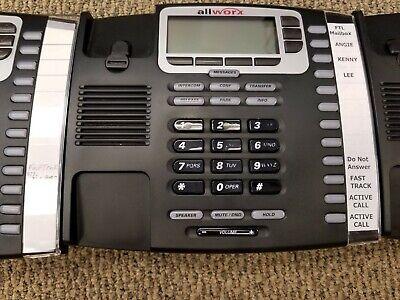 3 - Refurbished Allworx 9212 Voip Poe 12-line Display Office Phone Grade C