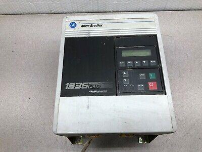 Used Allen Bradley 1336 Plus Sensorless Vector Frequency Drive 1336s-aqf30-aa-en