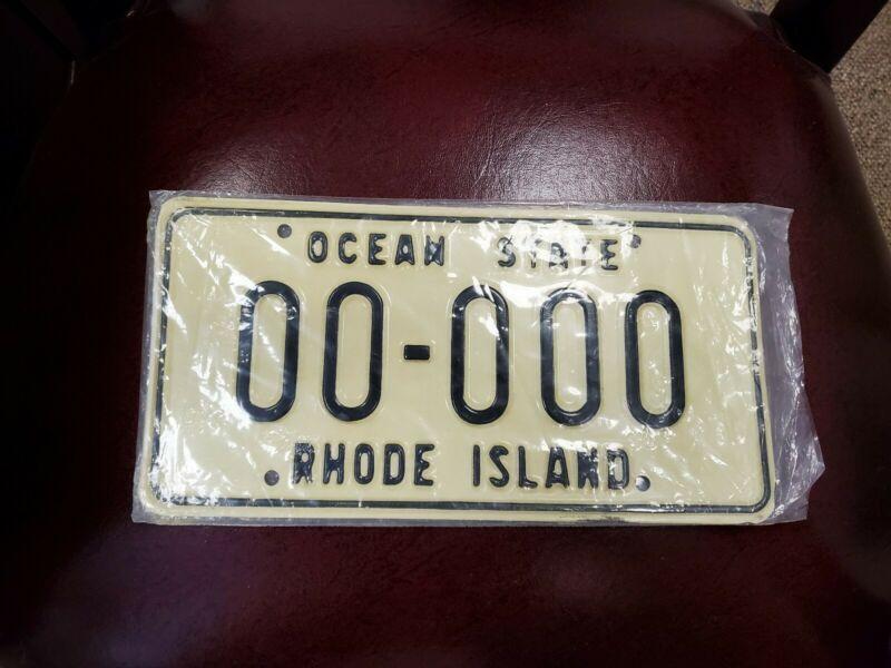 Rhode Island SAMPLE License Plate