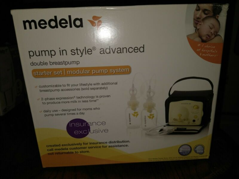 New Medela pump in style advanced starter set...double breast pump!