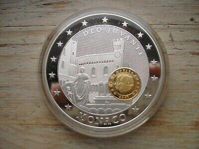 Medaille 10 Jahre Euro Münzen
