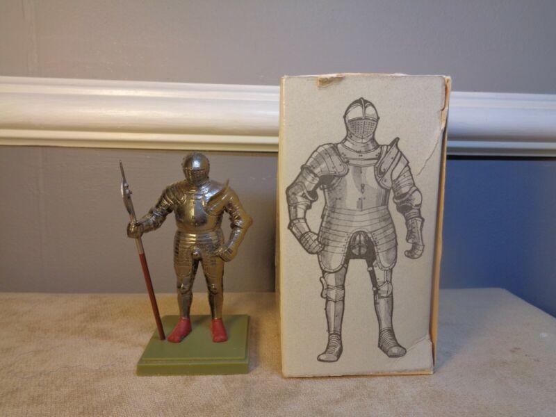 "John Niblett & Co Modelmakers Foot-Combat Armour Of Henry VIII 1540 Plastic 3.5"""