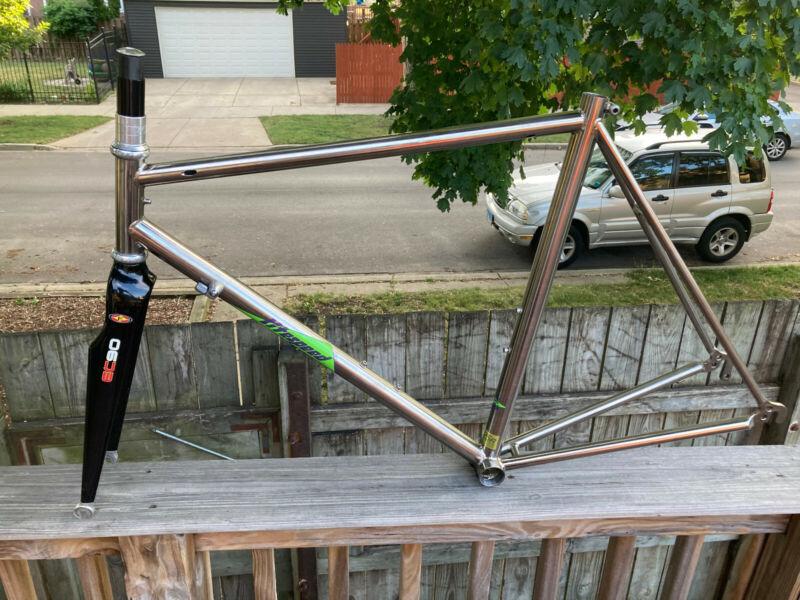 1990 Vintage Litespeed Road Bike Frame, 54cm, Sandvik TI, Chris King, Excellent