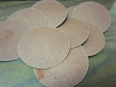 10pc 3 120 Grit Roloc Cookie Discs Aluminum Oxide Sanding Disc Roll Lock Type R