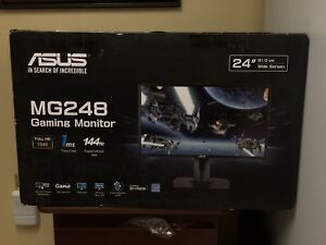 """24"""" ASUS MG248Q LED 144HZ 1ms LED 1080P WIDESCREEN"""