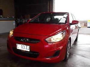 2012 Hyundai Accent Sedan Burnie Burnie Area Preview