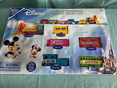 NEW Disney Train 2013 Original Set 53 Pcs Battery Operated Mickey Mouse