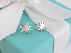 Tiffany & Co Silver Stella Star Picasso Earrings