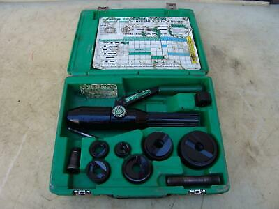 Greenlee 7804sb Quick Draw Hydraulic Punch Driver 12 To 2 Inch Works Fine