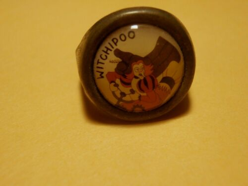 Vintage Witchipoo Novelty Metal Ring