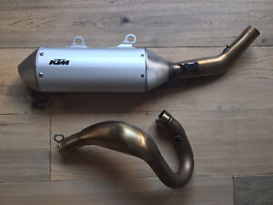 2018 450 KTM - Factory Edition - Stock Exhaust