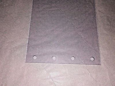 3 Perforated Strips Each Strip 8 Inches Wide X 24 Inches Long X 80mil Thick