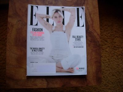 Elle Magazine Cover Miley Cyrus October 2016