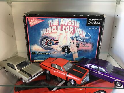 1:43 model cars. Aussie muscle car war. Trax Monaro valiant gt  ho