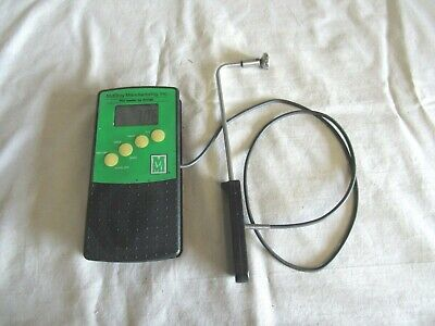 Mmi Mcelroy Manufacturing Digital Thermocouple Thermometer Wprobe Made In Usa