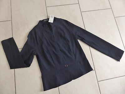 NEU BLIND DATE Damen Blazer kurz Jacke Elasthan dunkelblau blau Gr. 40