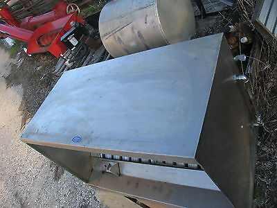 Nielsens Grease Exhaust Vent Hood System Stainless Steel Restaurant