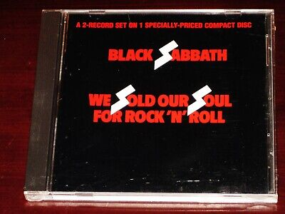 Black Sabbath: We Sold Our Soul For Rock 'N' Roll CD 1988 Best Of Greatest