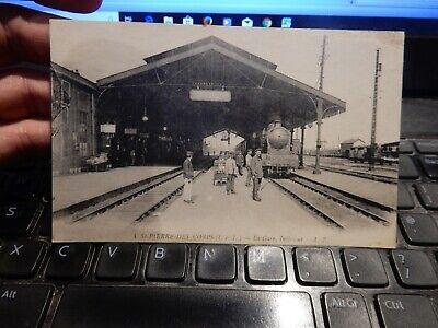 POSTCARD RAILWAY STATION   Saint-Pierre-des-Corps  INDRE    OLD   ORIGINAL