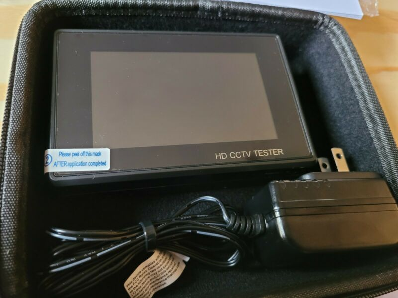 H.265 4K IP 8MP CVI TVI AHD CVBS CCTV Camera tester Monitor