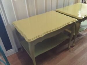 Citrus set of 2 side tables - 1 available