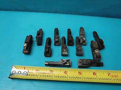 Used Lot Of Valenite Insert Tool Holders