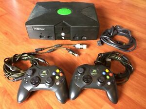 Original Xbox with 18 games