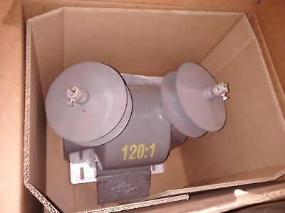 New Ritz Instrument Transformer 25 Kv Vzf25-10 Double Pole 14400-24940 Y 1201