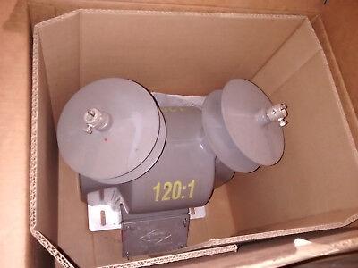 New Ritz Instrument Transformer 25 Kv Vzf25-10 Double Pole 14400-24940 Y 1201